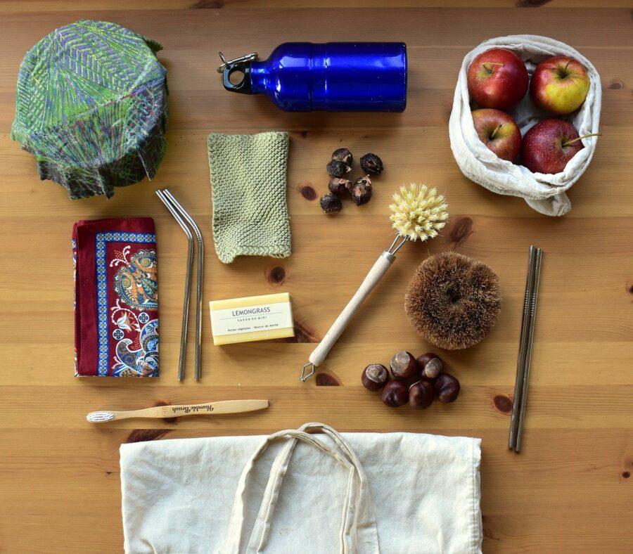 Zero waste potraviny, tašky a obaly