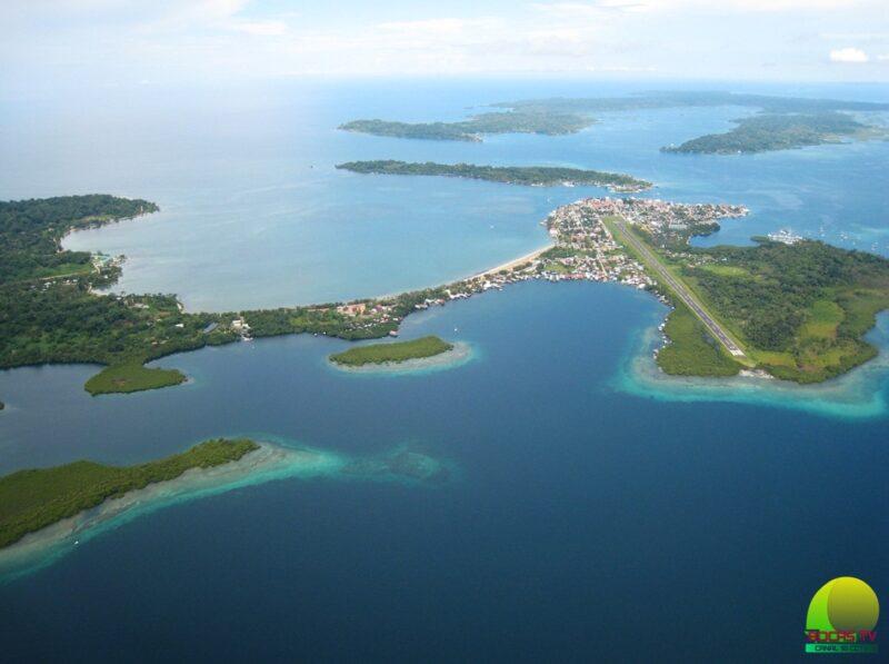 Bocas del Toro výhled