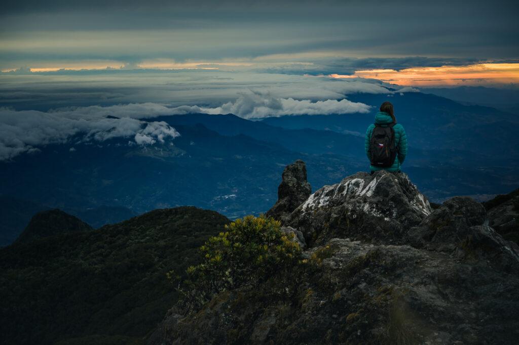 Volcán Barú nabízí 360°C výhled.