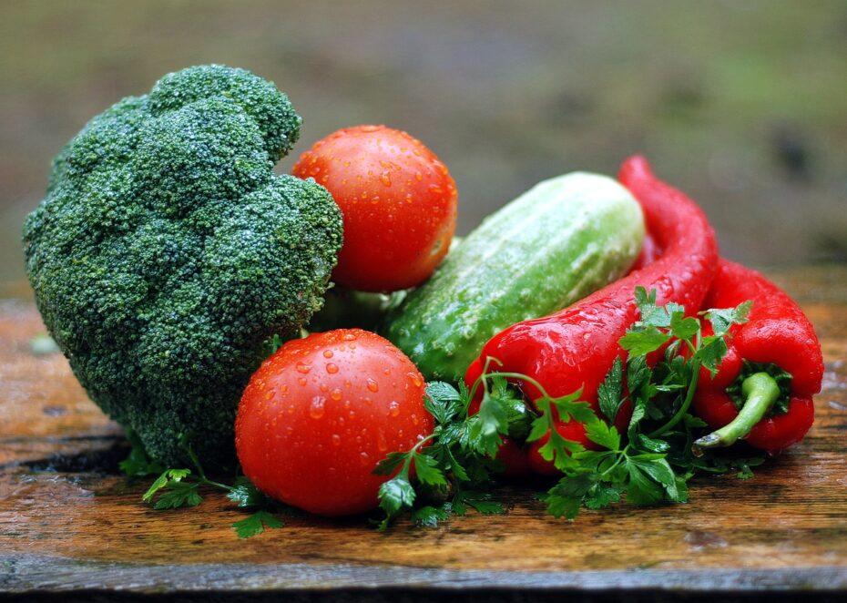 Zdravá strava - zelenina a brokolice