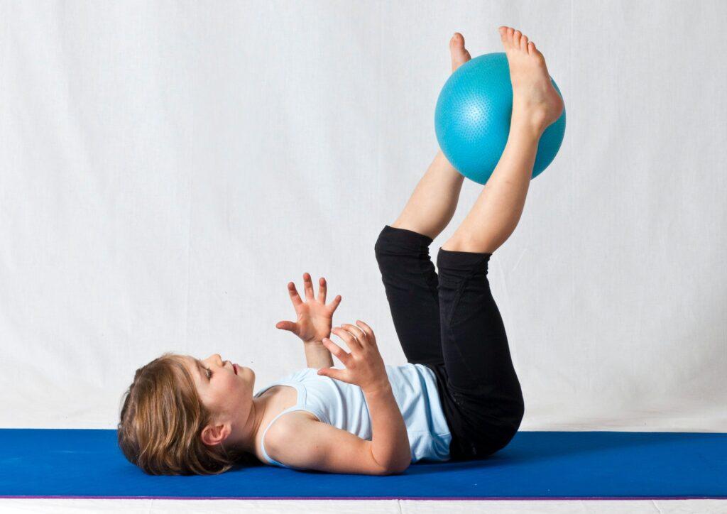 S overballem procvičíte celé tělo.