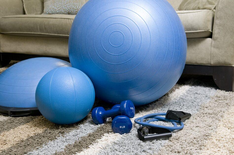 fitness pomůcky na doma