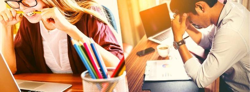 Jak se zbavit stresu z práce, ze školy