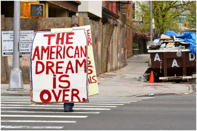 Americký sen skončil