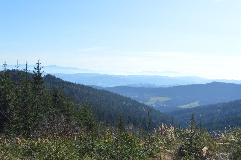 Výhled na Slovensko