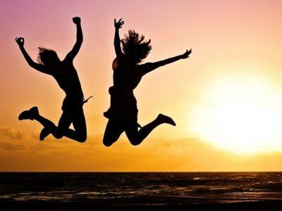 spokojenost a štěstí