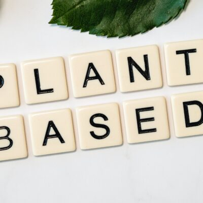 Vegan plant based nápis