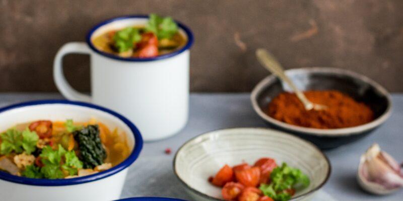 polévky na zařátí