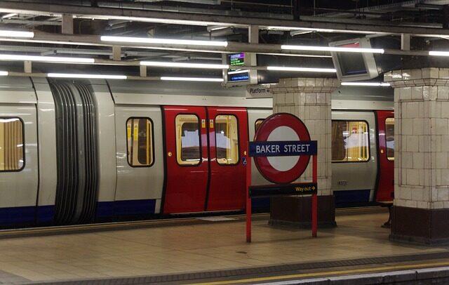 Baker street station, London Tube.