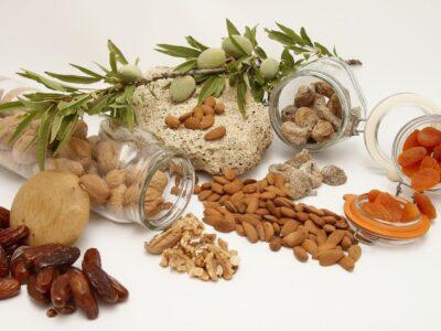 Ořechy zátiší