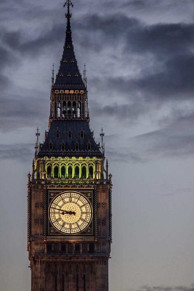 Big Ben nejznámější hodiny světa