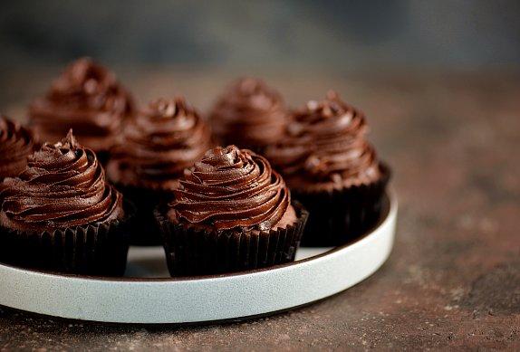 čokoládové cupcakes