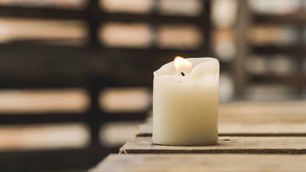 parafín svíčky