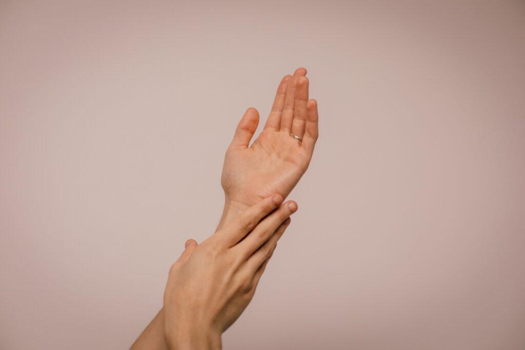 parafín na ruce