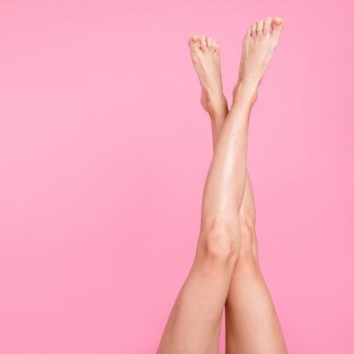 jak na štíhlé nohy, růžová