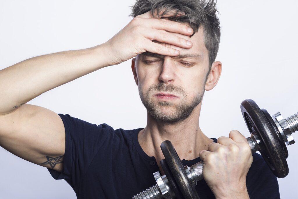 Progres je motivace k cvičení. Když už tak dlouho trénujete, nevzdáte to, ne?