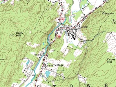Jak zjistit nadmořskou výšku z topografické mapy